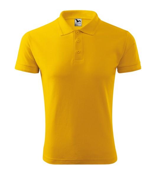 Polokošile pánská Malfini Pique Polo - Žlutá / M