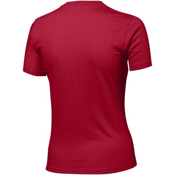 Ace short sleeve women's t-shirt - Dark Red / M