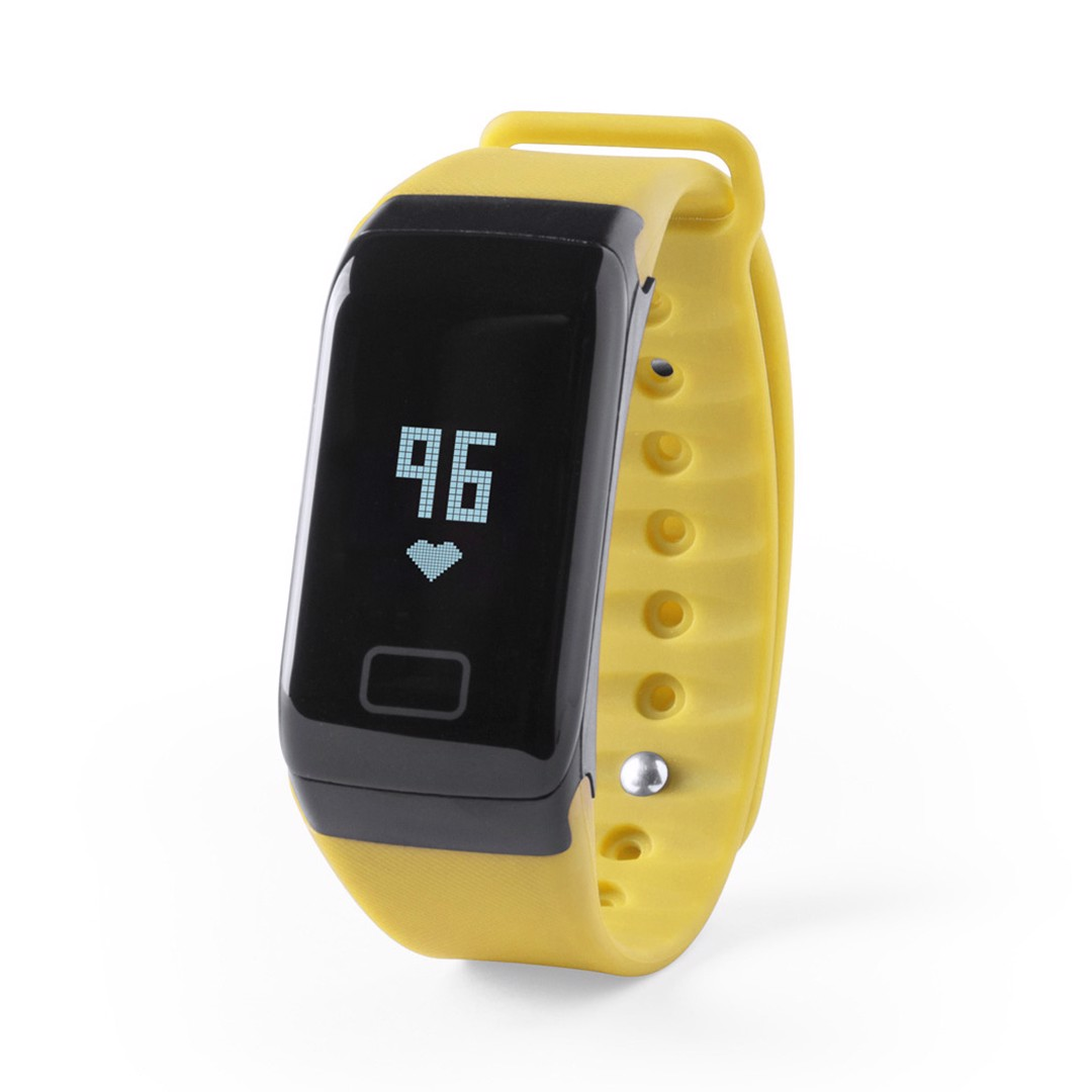 Relógio Inteligente Shaul - Amarelo