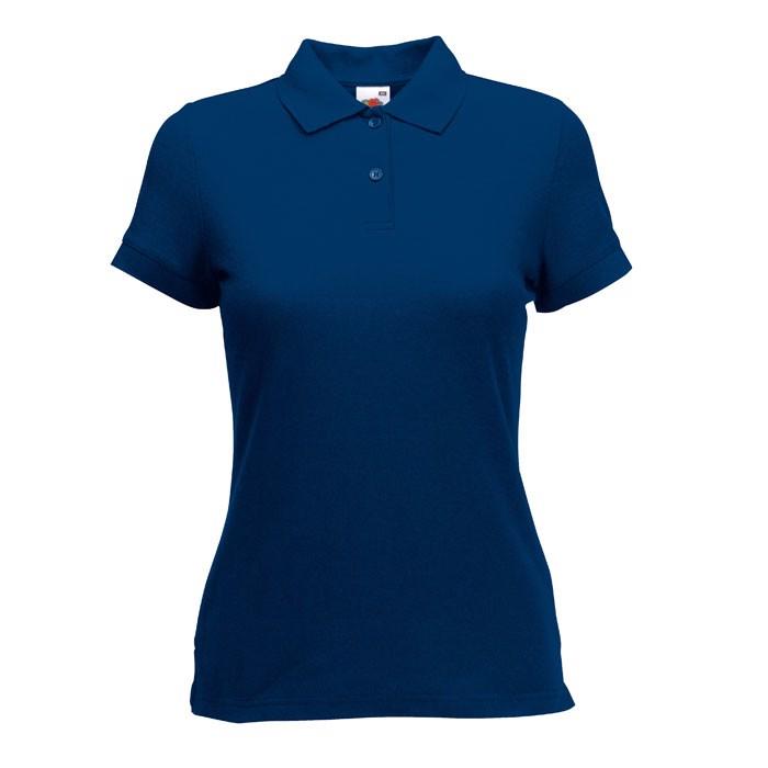 Damska Koszulka polo 170 g/m 65/35 Polo Lady-Fit  63-212-0 - Granatowy / S