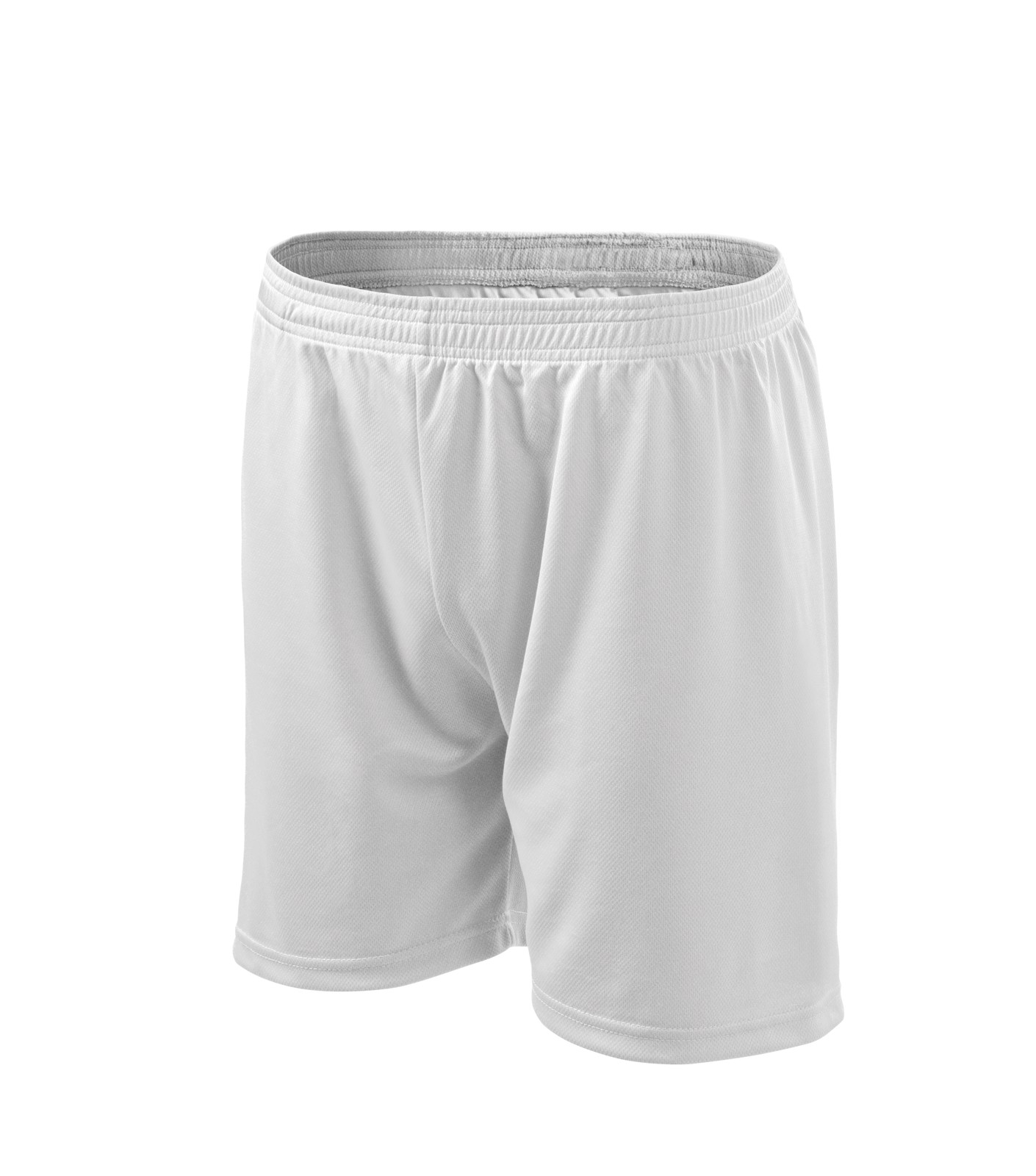 Shorts men's/kids Malfini Playtime - White / L