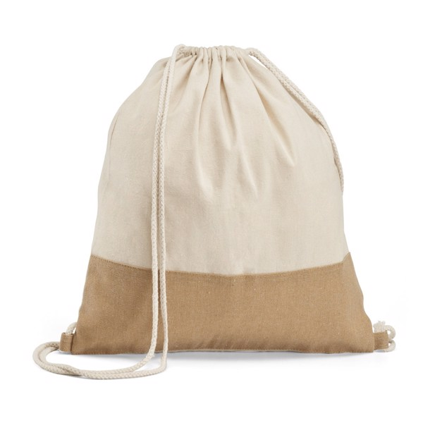SABLON. Mochila 100% algodón