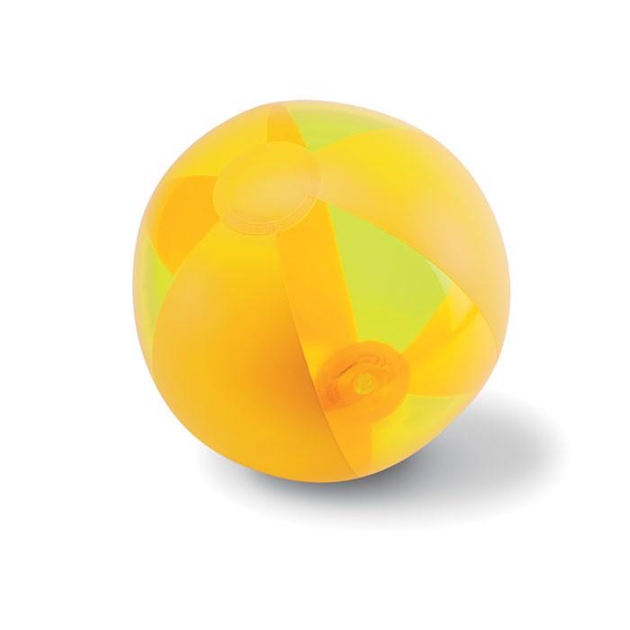 Nafukovací plážový míč Aquatime - yellow