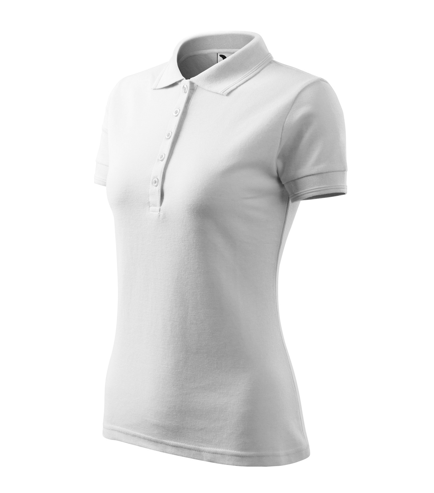 Polo Shirt women's Malfini Pique Polo - White / XS