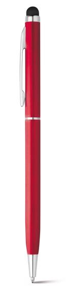 ZOE. Ball pen in aluminium - Red