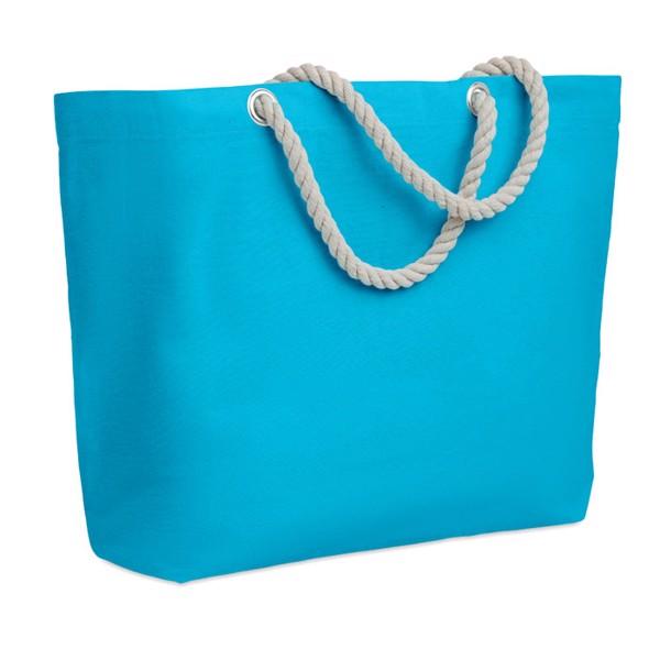 Taška s krouceným držadlem Menorca - turquoise