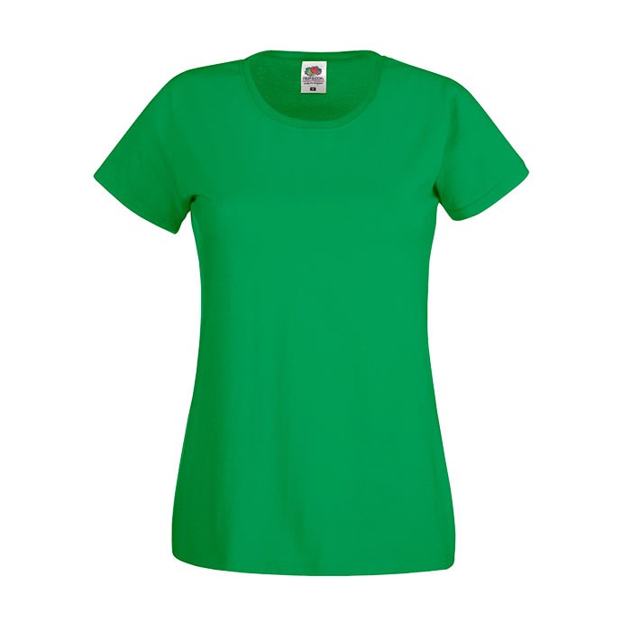 Lady-Fit T-shirt 145 g/m² Lady-Fit Original Tee 61-420-0 - Kelly Green / XXL