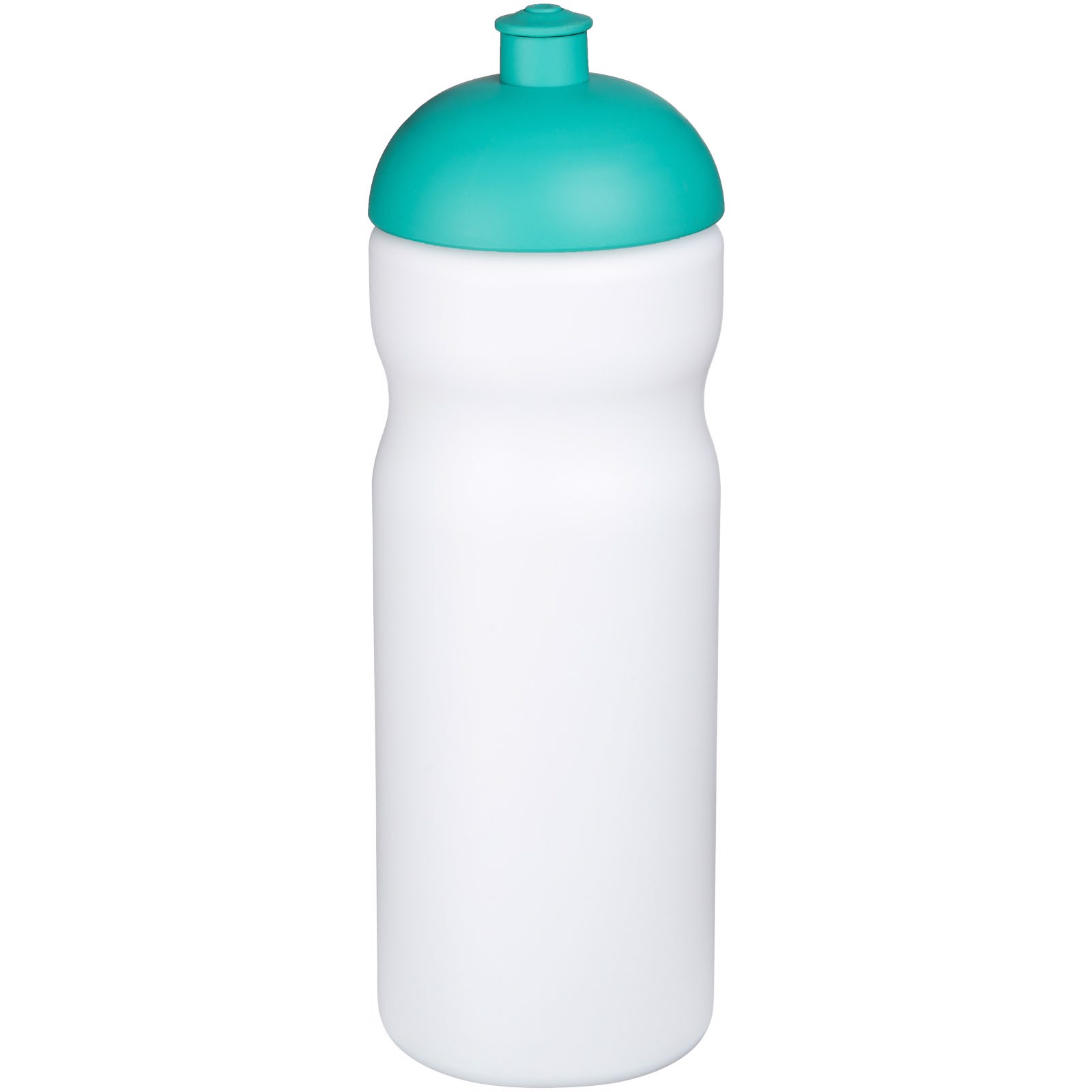 Baseline® Plus 650 ml dome lid sport bottle - White / Aqua