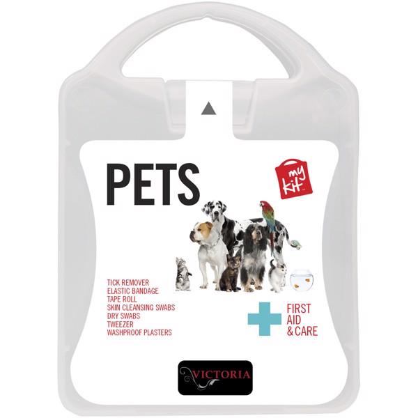 MyKit Pet First Aid Kit - White