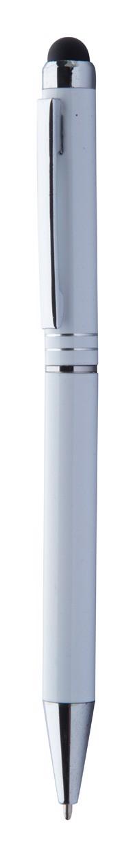 Touch Ballpoint Pen Nisha - White