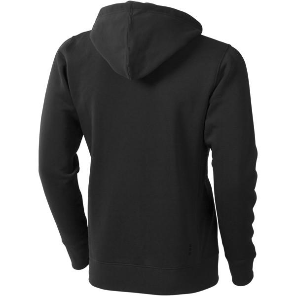 Mikina Arora s kapucí, zip v celé délce - Černá / XL