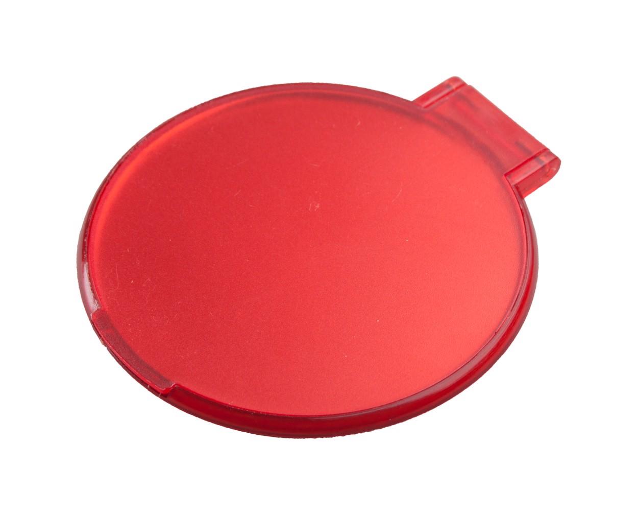 Zrcátko Thiny - Červená / Bílá