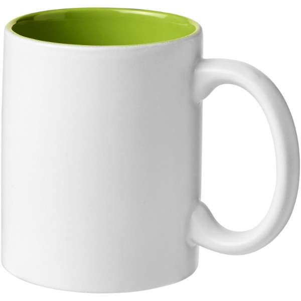 Taika 360 ml ceramic mug - Lime