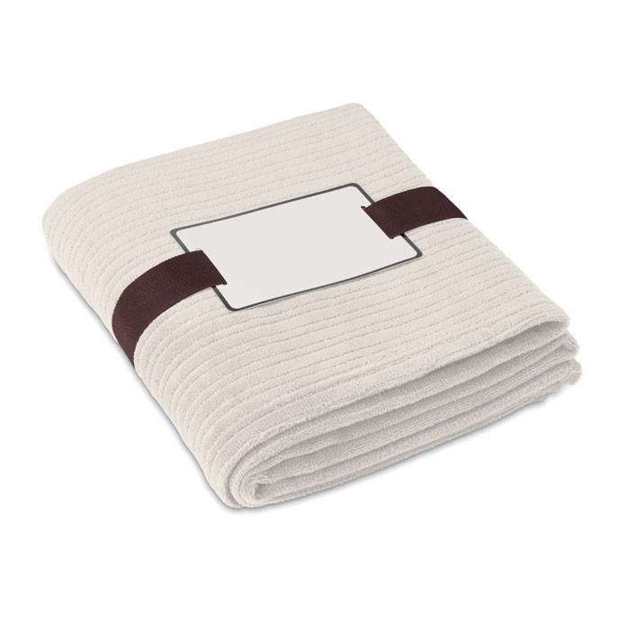 Fleecová deka Cap Code - beige