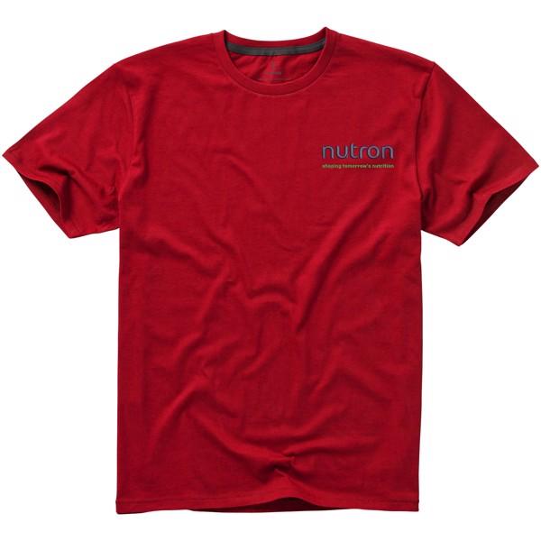 Nanaimo short sleeve men's t-shirt - Red / L