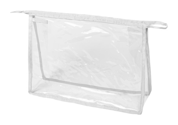 Cosmetic Bag Losut - Transparent / White