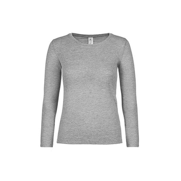 #E150 Lsl Women - Cinza Mesclado Escuro / S