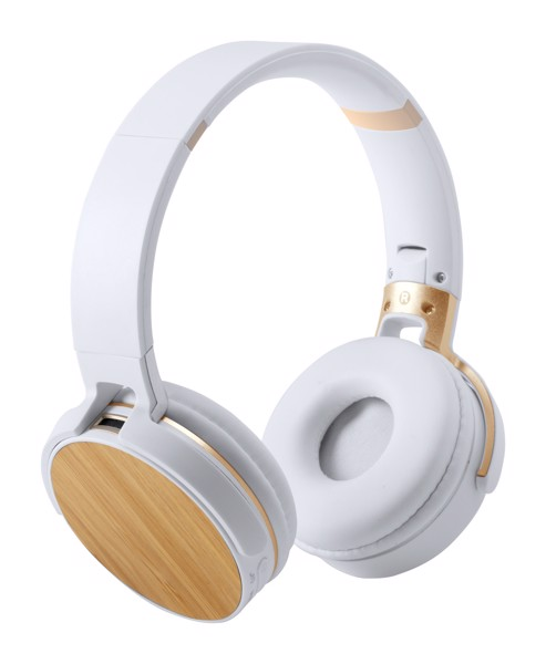 Bluetooth Headphones Treiko - White / Natural