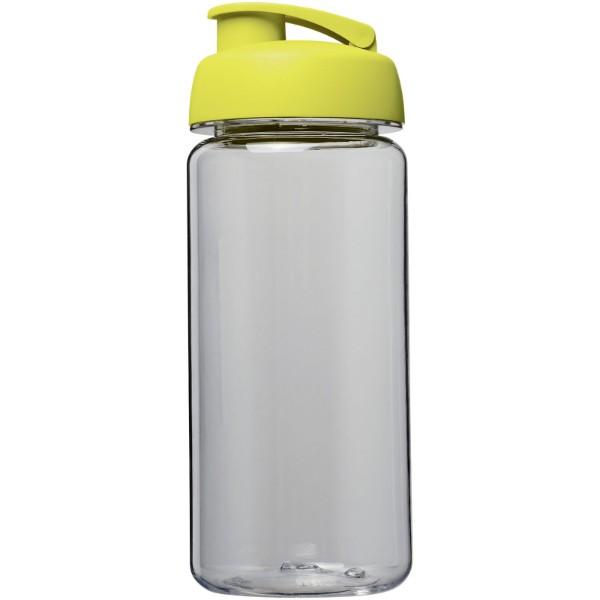 Sportovní láhev s vyklápěcím víčkem Octave Tritan™ 600 ml - Průhledná / Limetka