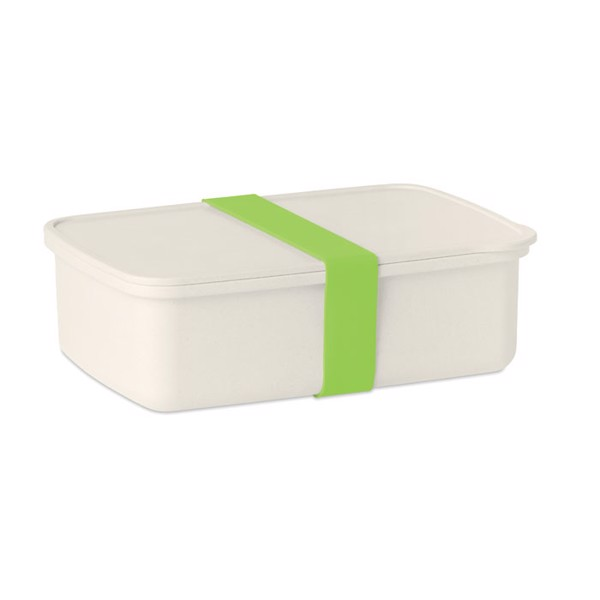 Lunchbox bamboo and PLA corn Nanbox - Lime