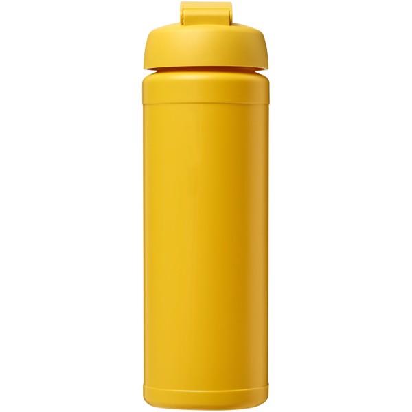 Baseline® Plus 750 ml flip lid sport bottle - Yellow