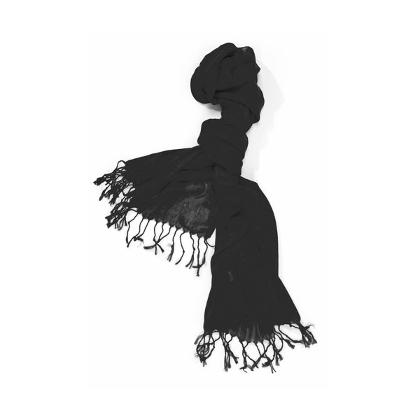 Pashmina Magnolia - Black