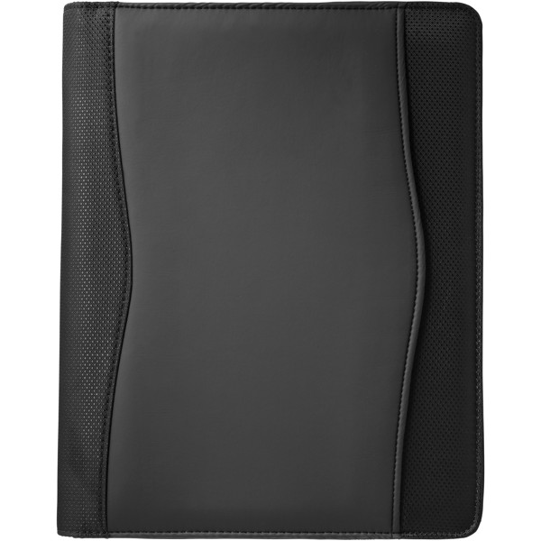 Wave A4 zippered portfolio