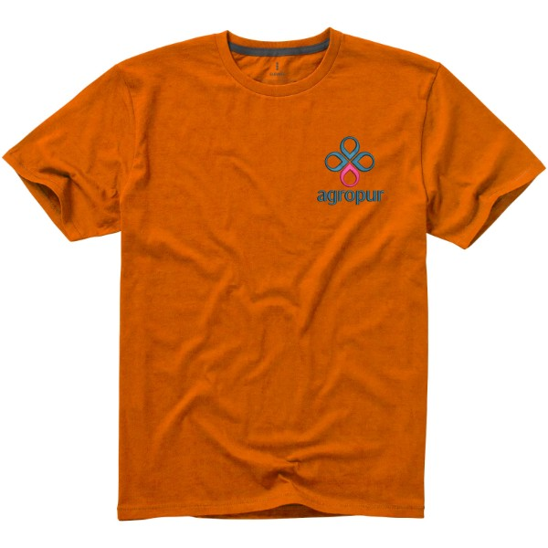 Nanaimo short sleeve men's t-shirt - Orange / XXL