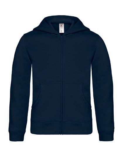 Hooded Full Zip Sweat / Kids - Navy / 3/4 (98/104)