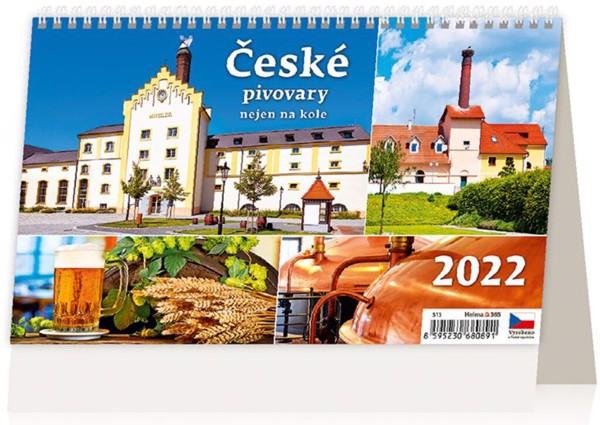 Týdenní kalendář České pivovary nejen na kole 2022