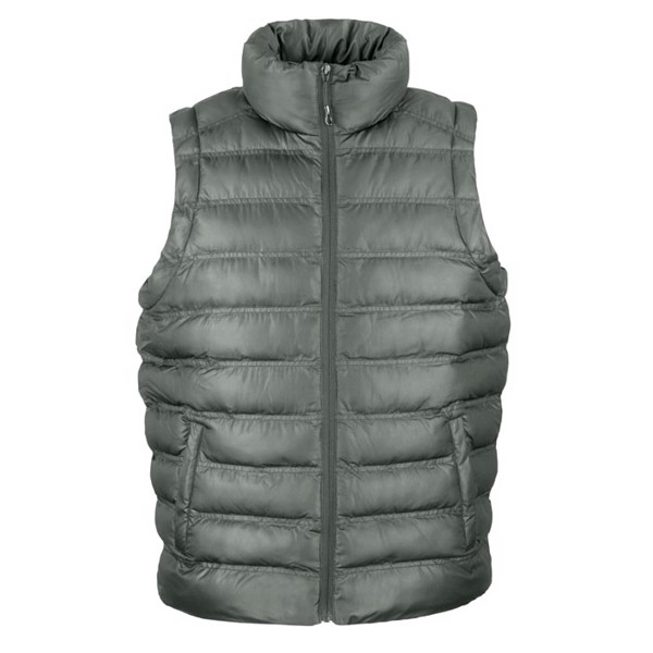 Men's Bodywarmer / Vest Ice Bird Padded Gilet R193m - Grey / XXL