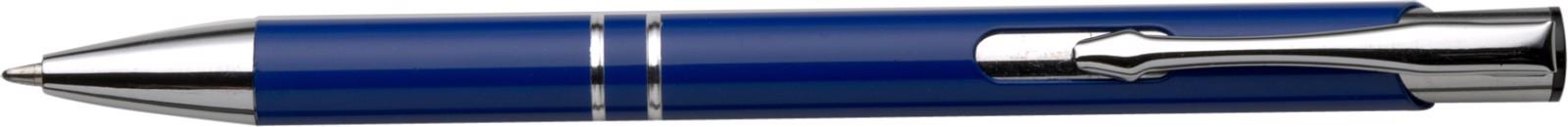 Aluminium ballpen - Cobalt Blue