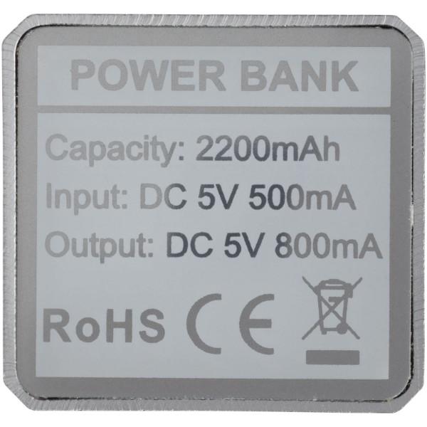 Powerbank WS101B 2200/2600 mAh - Silver