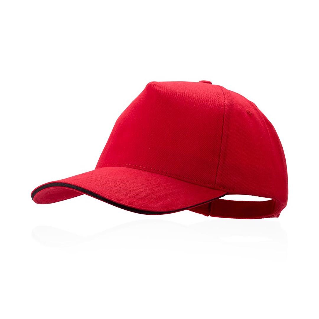 Gorra Kisse - Rojo