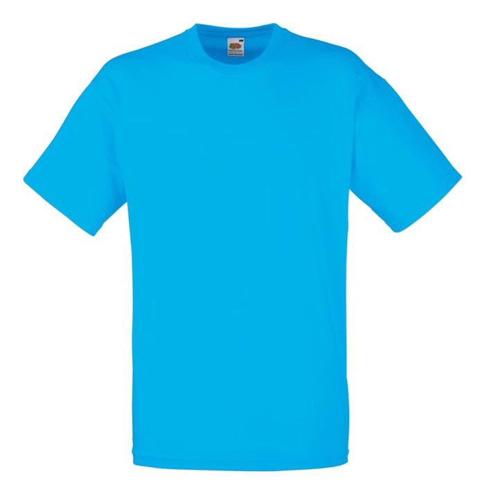 Tričko 165 g/m² Value Weight T-Shirt 61-036-0 - Azure Blue / S