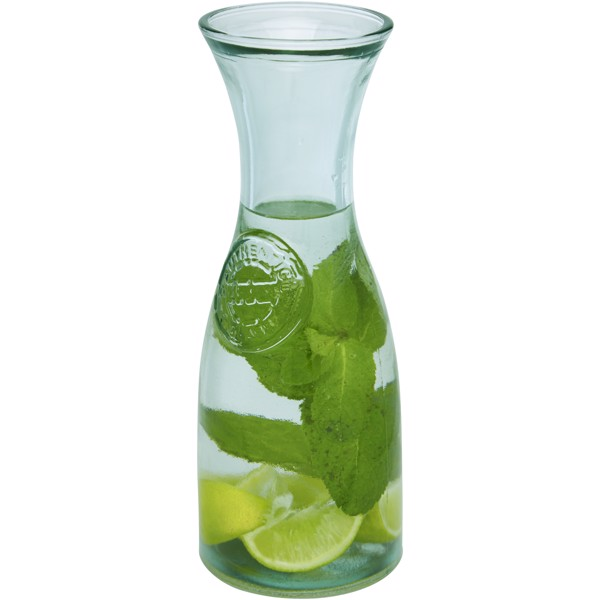 Fresco recycled glass carafe