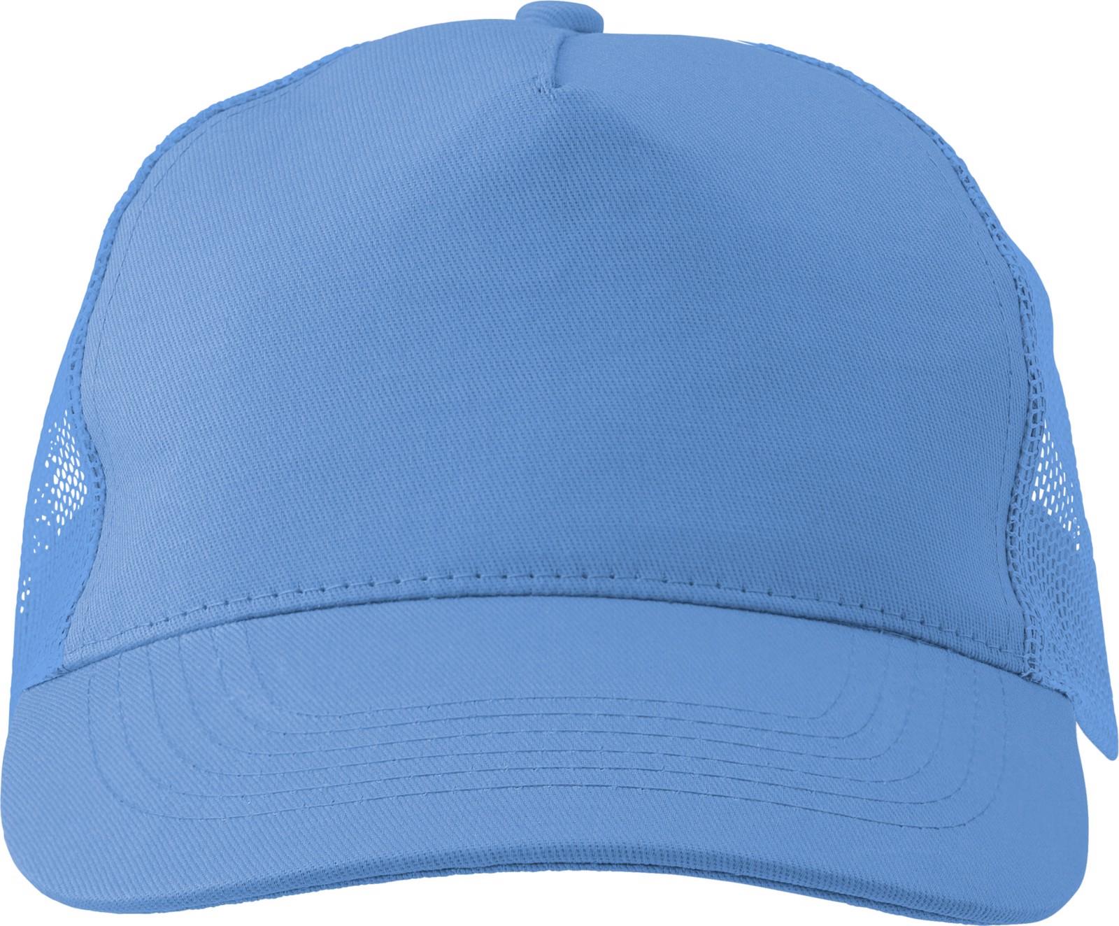 Cotton twill and plastic cap - Light Blue