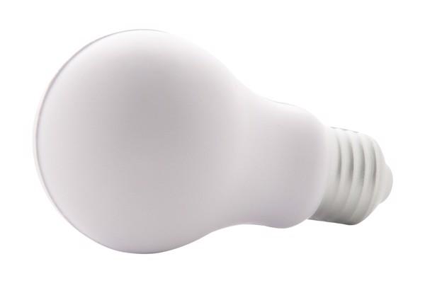 Antistres pripomoček v obliki žarnice Kidea - bela
