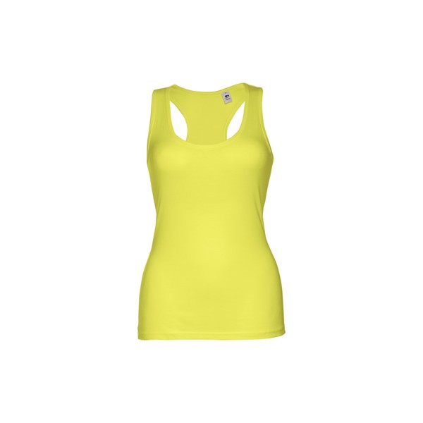 THC TIRANA. Women's tank top - Lime Yellow / XL