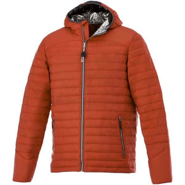 Silverton men's insulated packable jacket - Orange / XS