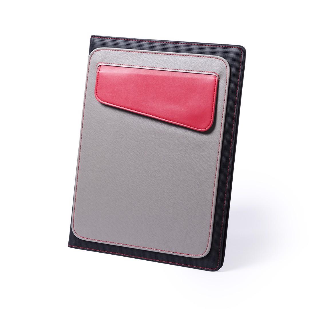 Carpeta Funda Tablet Cora - Rojo