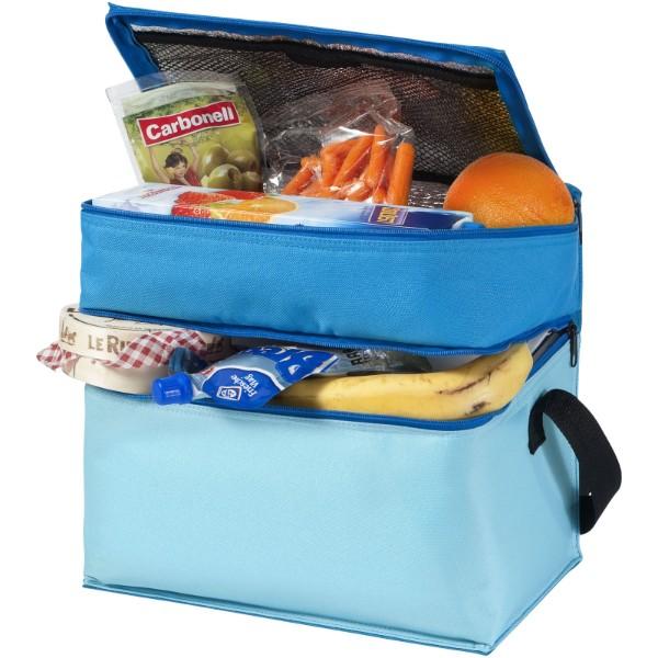 Trias 2-compartment cooler bag - Blue