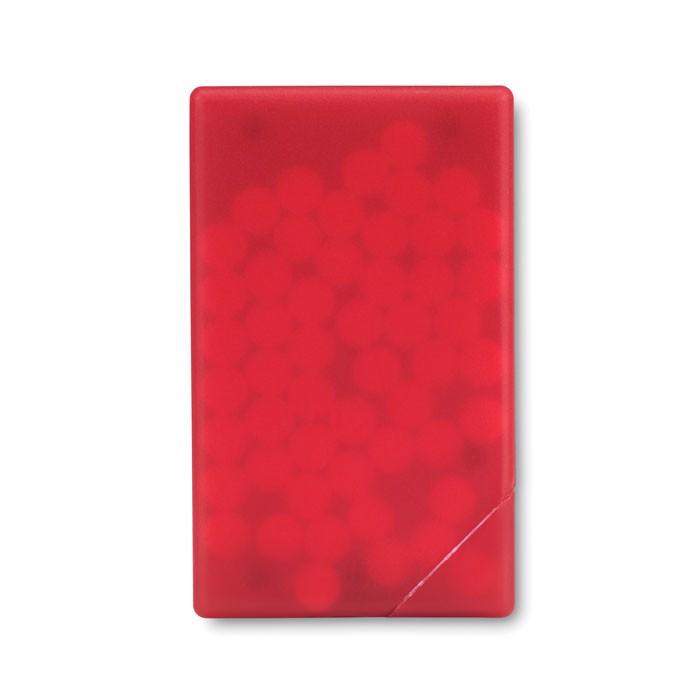 Mint dispenser Mintcard - Transparent Red