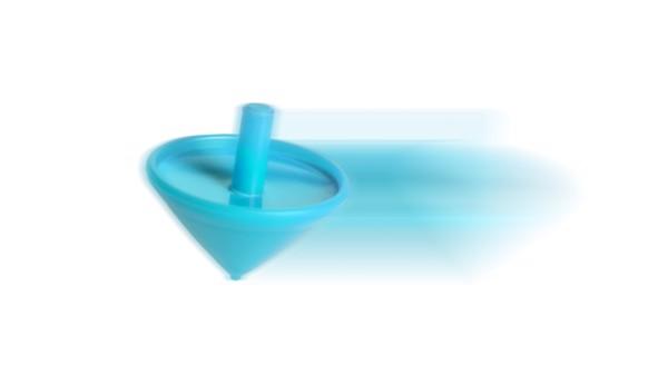 Pião Buddy - Azul Claro