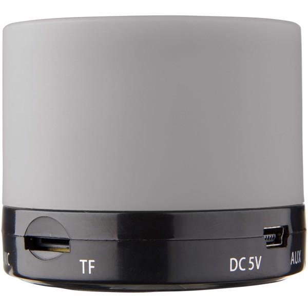 Duck Zylinder Bluetooth® Lautsprecher mit gummierter Oberfläche - Grau