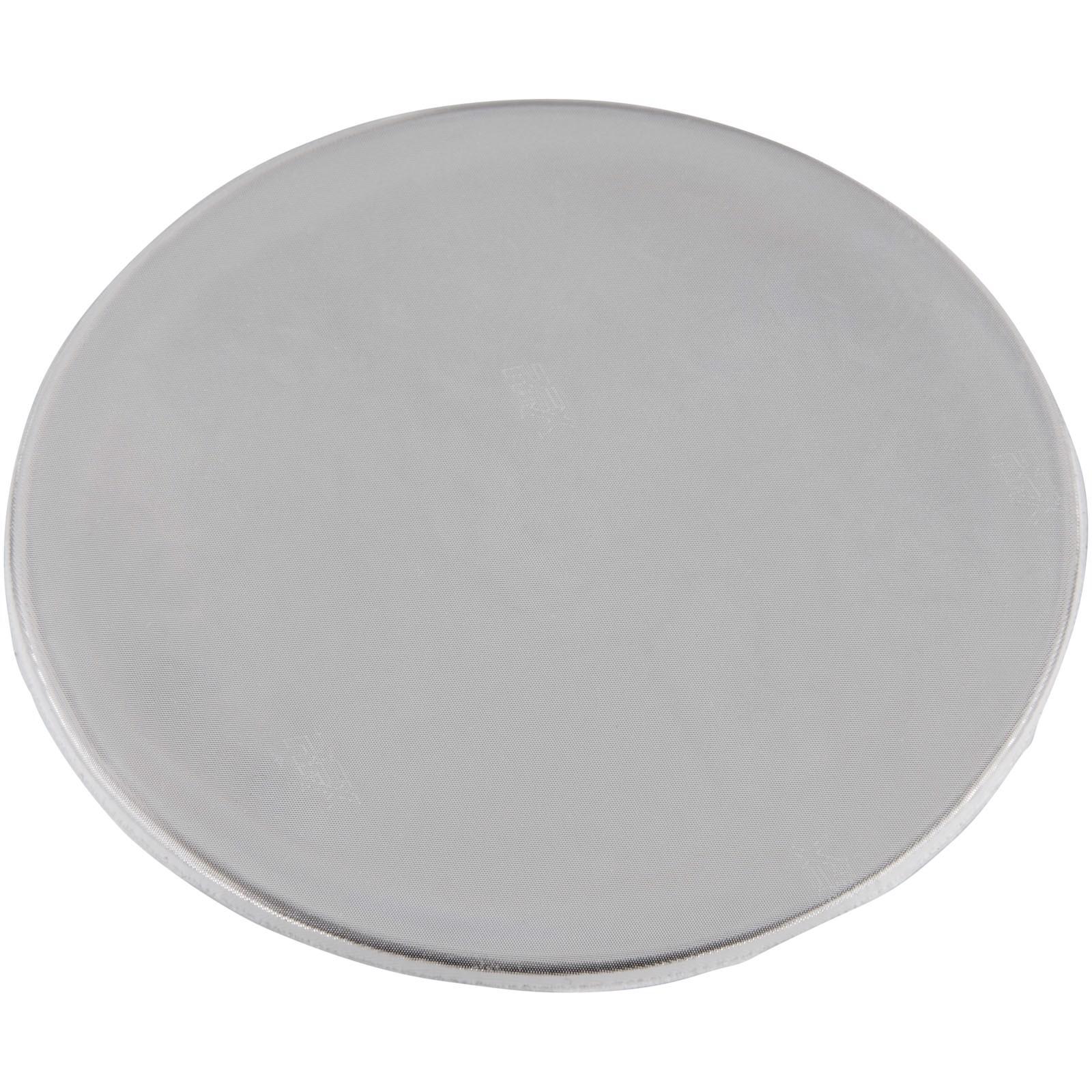 Reflective sticker round large - White