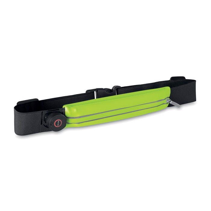 Running waist belt with light Ironrun - Neon Yellow