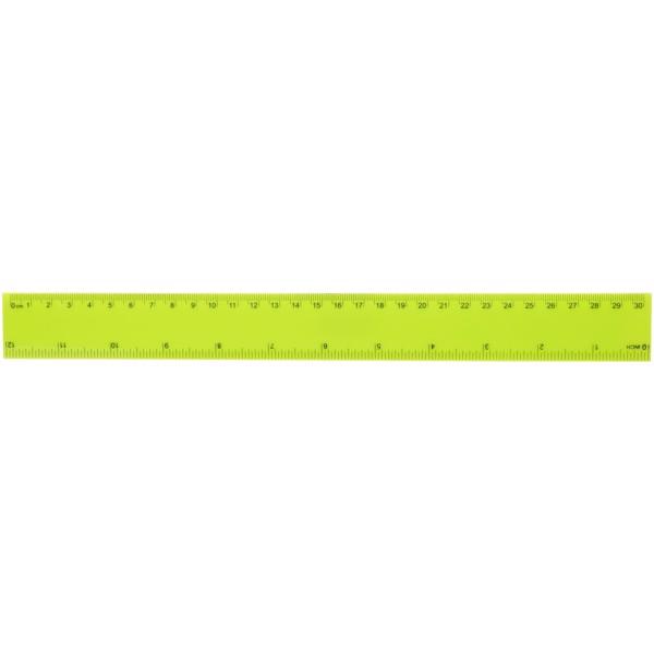 Linijka 30 cm Ruly - Limonka
