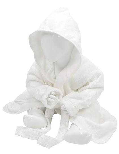Babiezz® Bathrobe With Hood - White / White / 98/110