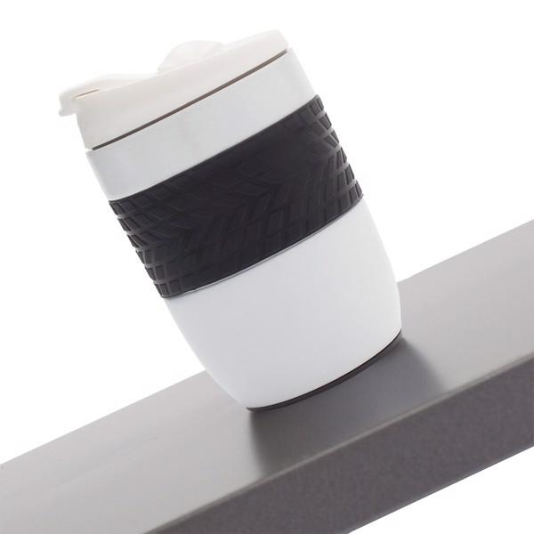 Kubek izotermiczny Offroader 200 ml - Biały